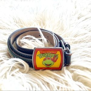 Vintage 80's Teenage Mutant Ninja Turtles belt
